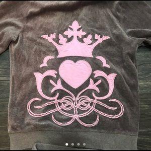 Juicy Couture track suit set